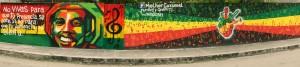 reggae wall, reggae heart
